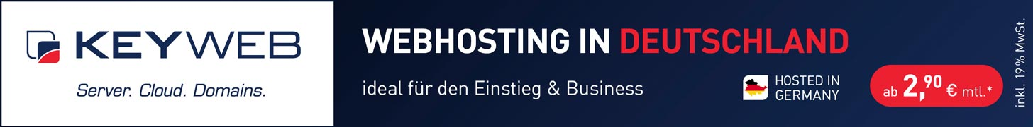 Der Webhostingtarif